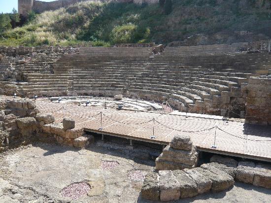 Malaga, Spain: Römische Theater in Málaga
