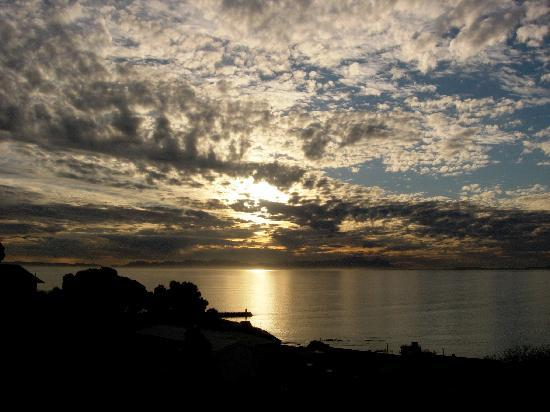 Gordon's Bay, Afrika Selatan: Amazing sunsets
