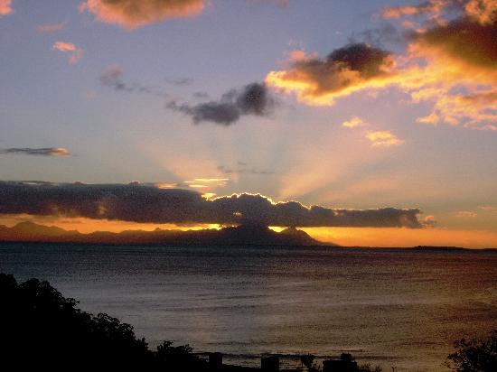 Gordon's Bay, Afrika Selatan: Sunsets - different every day