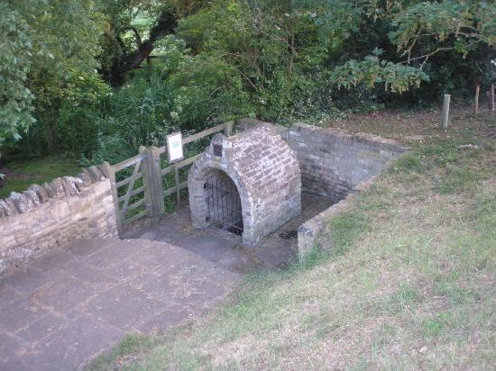 Old Ferry Boat Inn: The 'Holy Well'