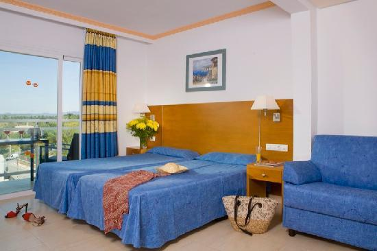 Talamanca, Spagna: Room / Habitación Hotel Victoria