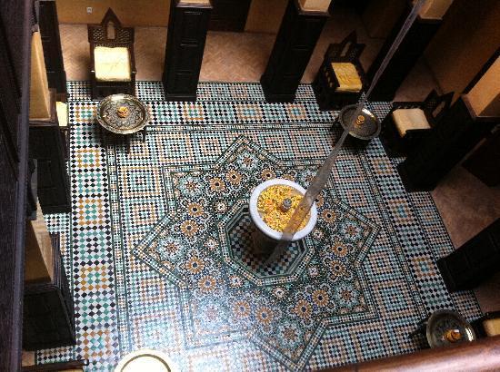 La Sultana Marrakech: corte interna 1