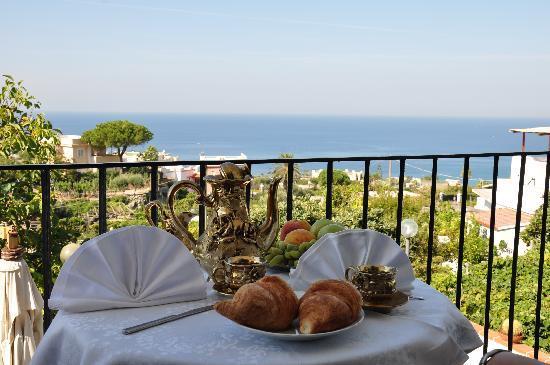 Hotel Villa Cimmentorosso: La vista