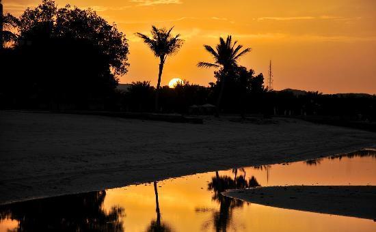 Dhafra Beach Hotel: Evening Sunset View