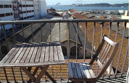 Portugal Ways Conde Barao Apartments: Petite terrasse