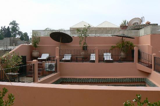 Riad Ajmal: La terrasse