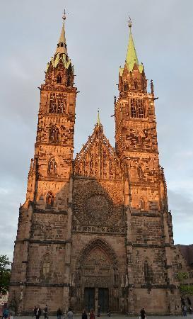 Núremberg, Alemania: Lorenzkirche