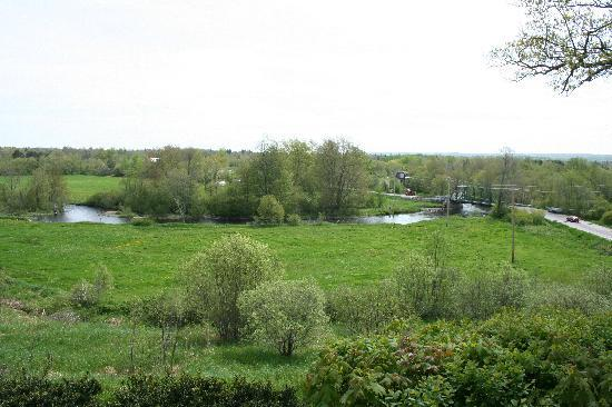 Falcourt Inn: View from the Falcourt