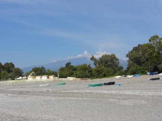 Fiumefreddo di Sicilia, Italien: Etna