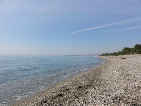 Pegasus: Fiumefreddo di Sicilia spiaggia