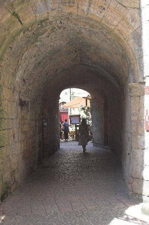 Sarlat la Canéda, France : Medieval passages ways