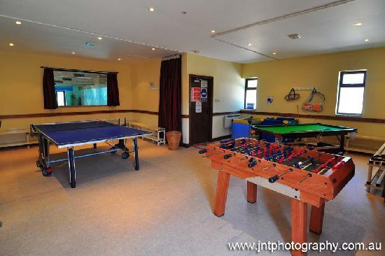Church Farm Country Cottages: The games room