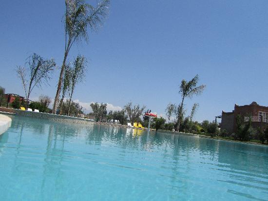 Résidence Habiba : piscine lagon
