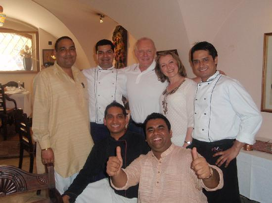 Anthony Hopkins with Indian Jewel Staff