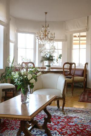 Naturhotel Wieserhof: cozy atmosphere