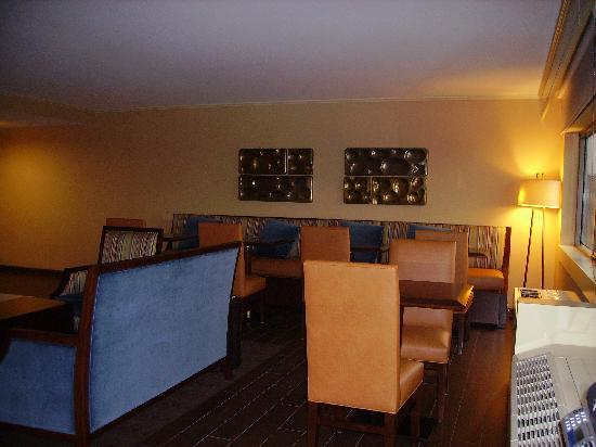 Sheraton Syracuse University Hotel & Conference Center: Club lounge artwork