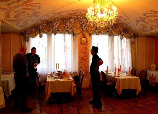 Danilovskaya Hotel: Cosy dining room for the traditional Russian meal