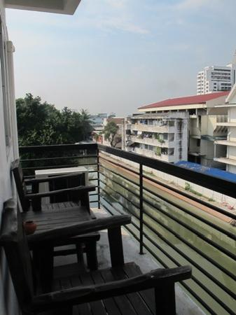 Fortville Guesthouse: View from balcony