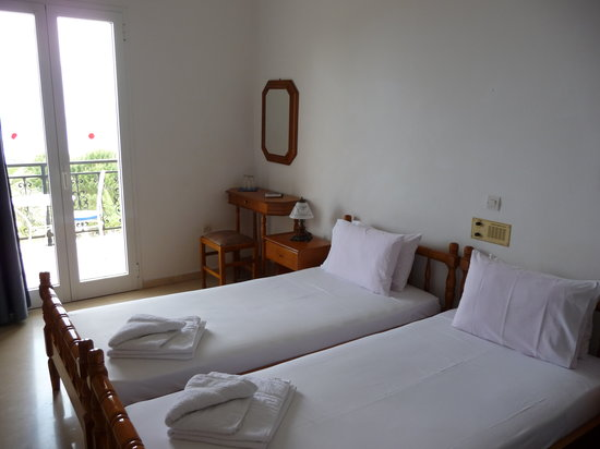 Ionian Islands, Greece: bedroom