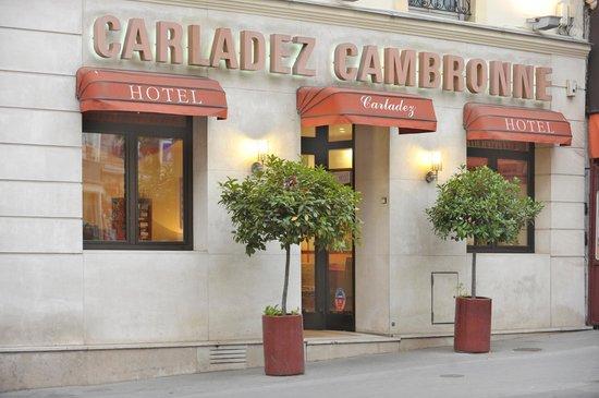 Hotel Carladez Cambronne: Facade hôtel