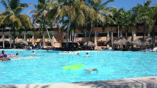 Iberostar Costa Dorada: Vue de la piscine