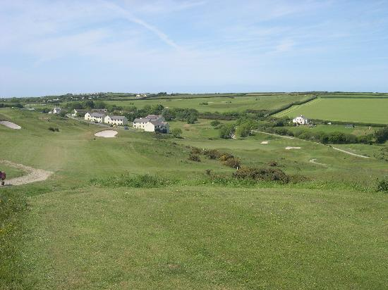Willingcott Valley Golf Course: view from 3rd Tee