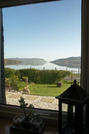 Luib House Bed & Breakfast: View from the dining room