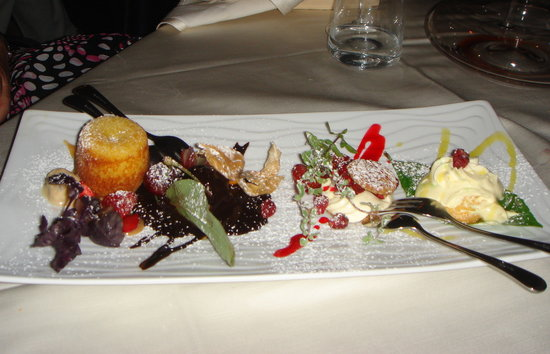 Torre Normanna Restaurant: One of their amazing desserts