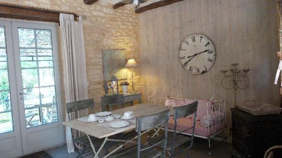 Sainte Nathalene, Francia: Salle à dîner