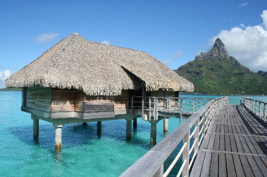InterContinental Thalasso-Spa Bora Bora: Our Bungalow (130)