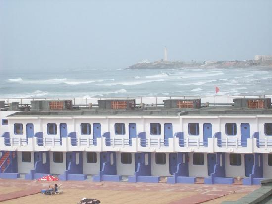 Casablanca, Maroc : Espace privé plage ain DIAP