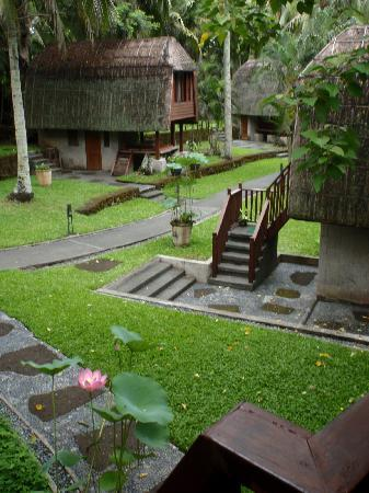 The Farm at San Benito: Sulu Terrace room, with toilet-bath downstairs