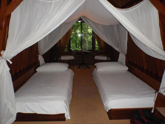 Lipa City, Filipiny: Bedroom of Sulu Terrace