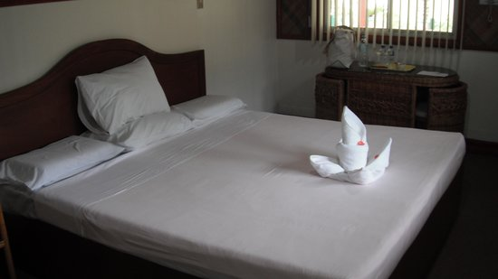 Остров Самал, Филиппины: Our room, Paradise Island Resort, Samal Island