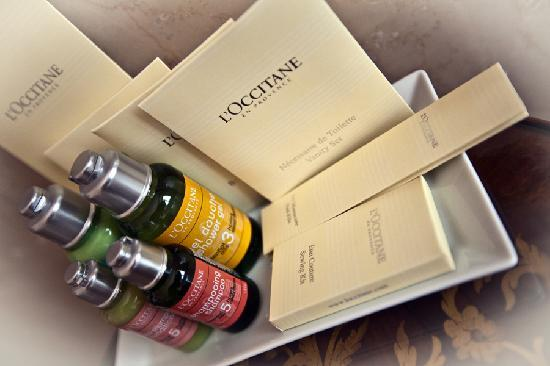 Alchymist Prague Castle Suites: L´occitane amenities