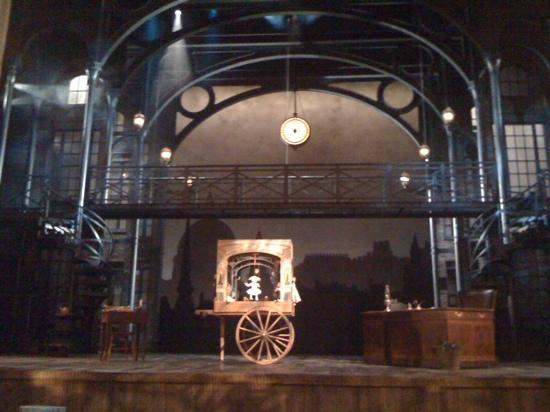 Ford's Theatre: The stage at Ford's Theater.