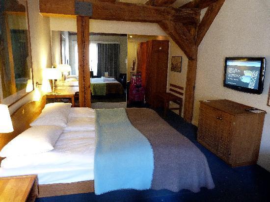 Copenhagen Admiral Hotel: our very nice (standard!) room