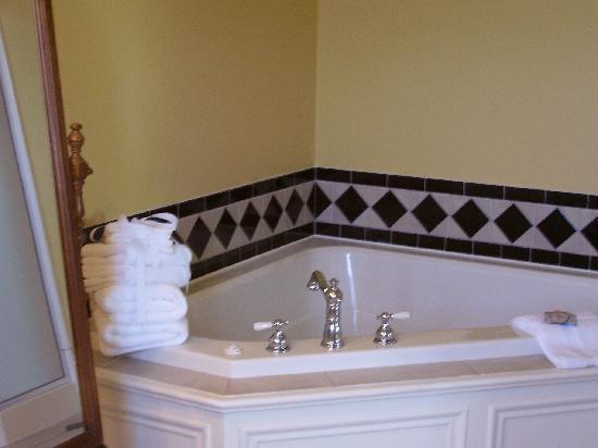 Market Street Inn: Renaissance bath!