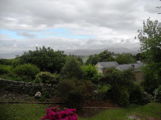 Pen Y Garth: View from our window