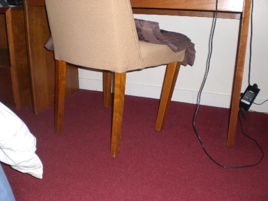 Middlesbrough, UK: Chair Hazard