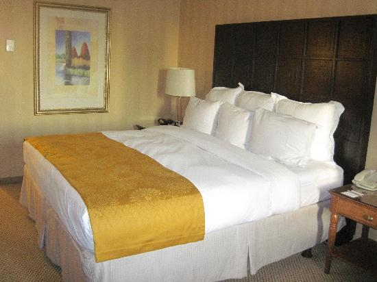 DoubleTree by Hilton Houston - Greenway Plaza: Comfortable Bed