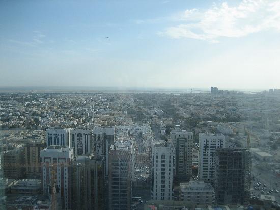 Grand Millennium Al Wahda: Die Aussicht aus unserem Zimmer