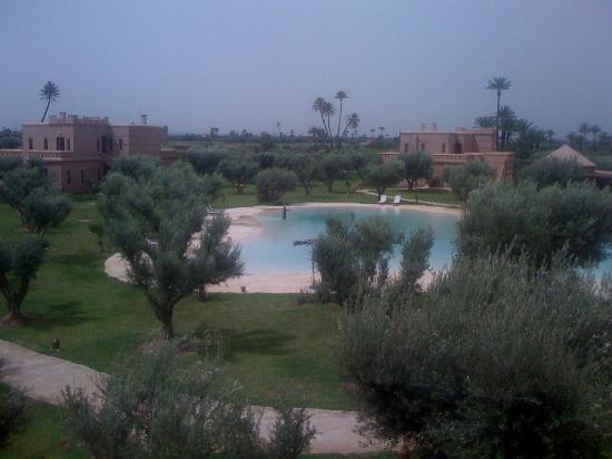 Hotel Douar Al Hana Resort & Spa: vue du toit du restaurant