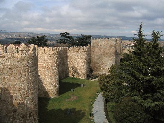 Avila -  Stadtmauer
