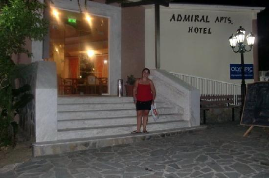 Hotel Admiral Argassi: The hotel