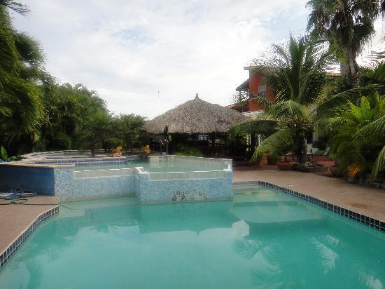 La Palmeraie: Swimming pool