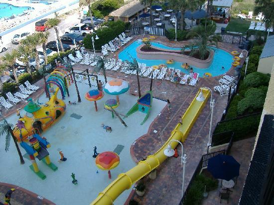 Sea Crest Oceanfront Resort View Of Chrildren S Play Area