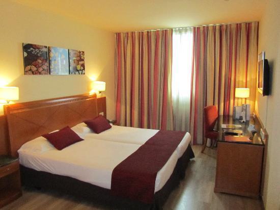 Eurostars Hotel Barbera Parc: Camera