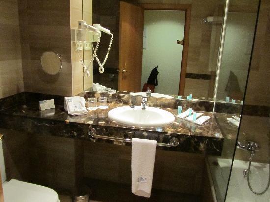 Eurostars Hotel Barbera Parc: Bagno
