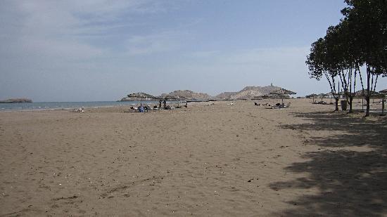 Barka, Omán: la plage